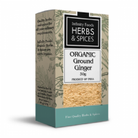 Infinity Foods Organic Ground Ginger 30g